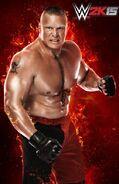 WWE 2K15 Brock Lesnar