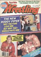 Inside Wrestling - January 1987