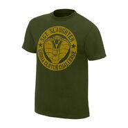 Sargeant Slaughter Cobra Clutch Challenge Legends T-Shirt