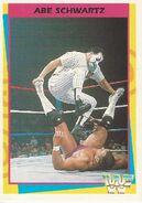 1995 WWF Wrestling Trading Cards (Merlin) Abe Schwartz 129