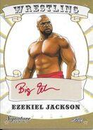2016 Leaf Signature Series Wrestling Ezekiel Jackson 24