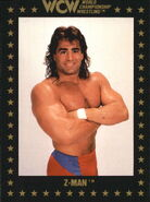 1991 WCW Collectible Trading Cards (Championship Marketing) Z-Man 97