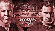 Sacrifice 2014 Anderson v Shaw