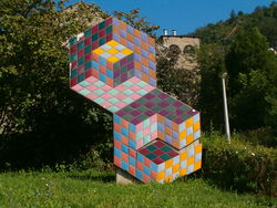 Hungary pecs - vasarely0