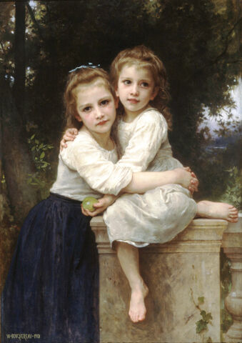 File:William-Adolphe Bouguereau (1825-1905) - Two Sisters (1901).jpg