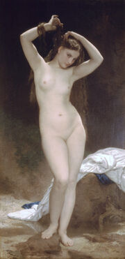 William-Adolphe Bouguereau (1825-1905) - Bather (1870)