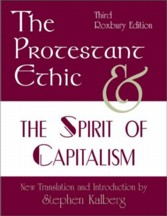 Cover of book The Protestant Ethic and the Spirit of Capitalism