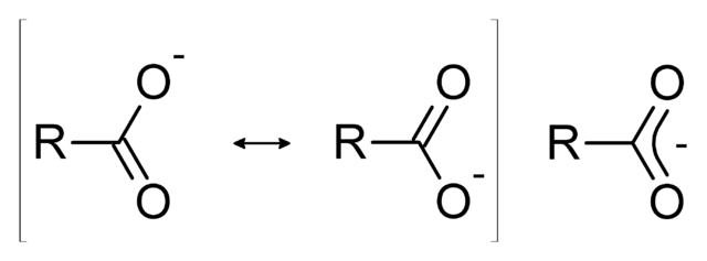 File:Resonance stabilization of carboxylic acids.png