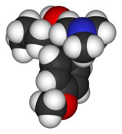 Venlafaxine-3D-vdW