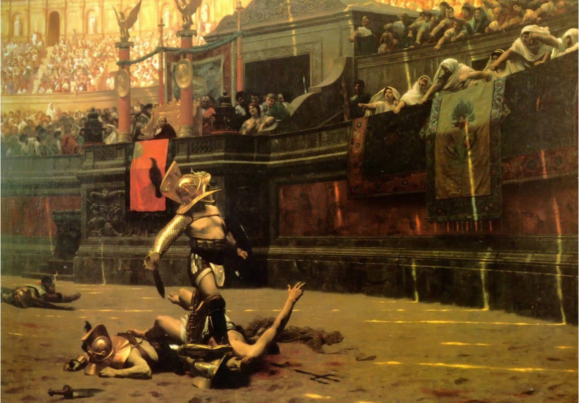 critique on pollice verso Pollice verso // jean leon gerome login for price login for price product description add a touch of luxury and upscale sophistication to your home, office, or .