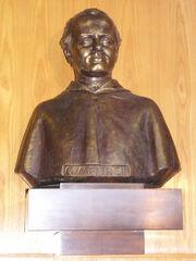 Gregor Johann Mendel bust