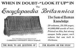 Ad Encyclopaedia-Britannica 05-1913