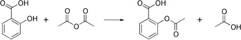 Aspirin synthesis