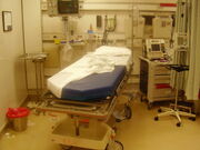 ER room after a trauma