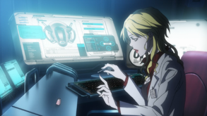 Shion painting her nails