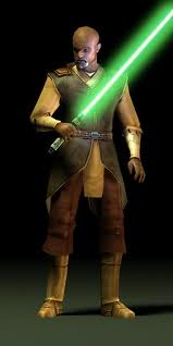 Jolee bindo green lightsaber.jpg