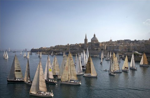 File:The Start of the 29th Rolex Middle Sea Race.jpg