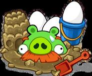 Sandbox pig