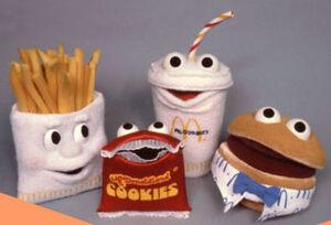 Mcdonalds Puppets
