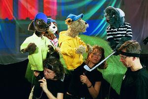 Mustardpankes performing