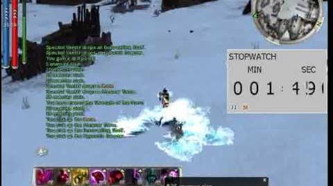 Mesmer Assassin solo Vaettir HM Farm - Guild Wars