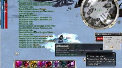 Mesmer Assassin solo Vaettir HM Farm using Dark Escape instead of Feigned Neutrality