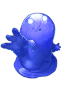 Aqua Slime transparent