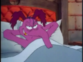 45 - Cyril Sneer Grinning As He Is Fooling Bert Raccoon In Last Legs