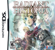 Radiant Historia Cover Art