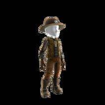 Sheriff Black Costume Prop