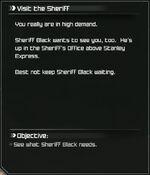 Rage Visit the Sheriff