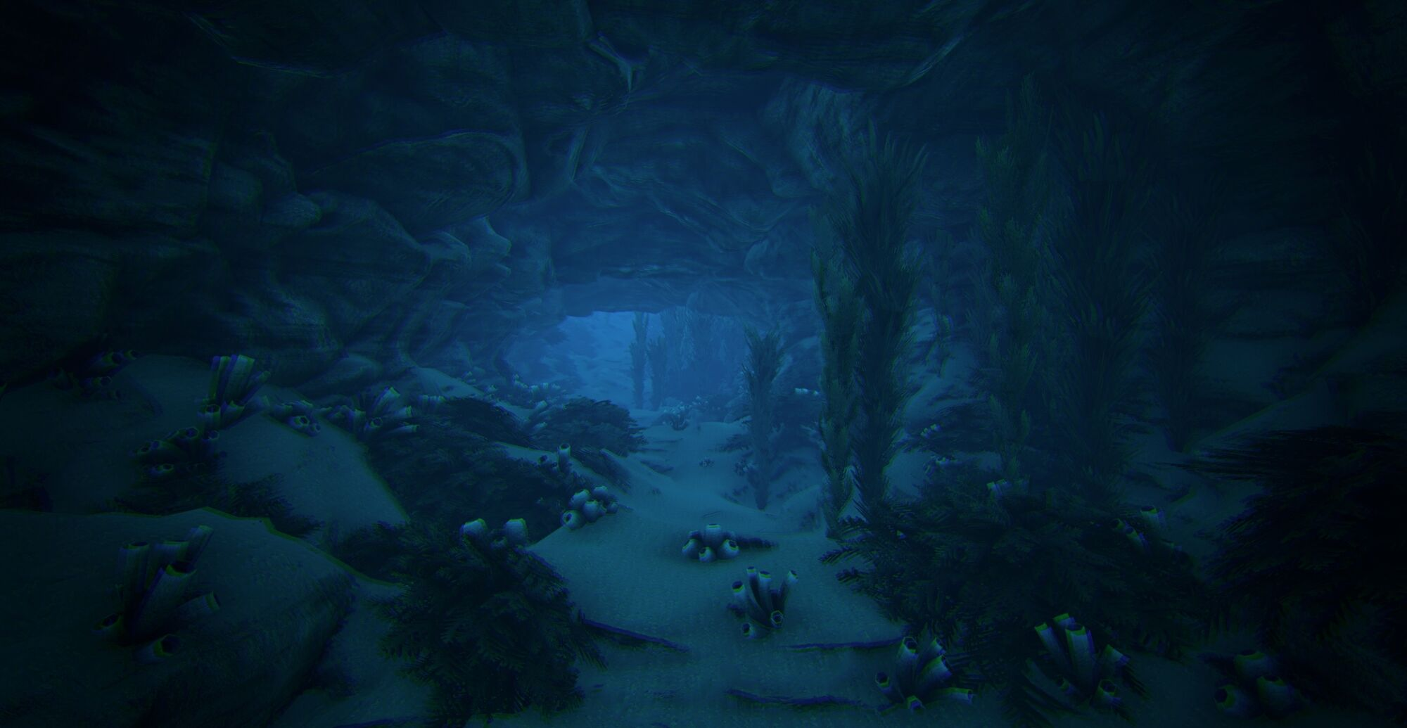 Images of Underwater Caves Ark The Island - #rock-cafe