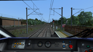 Class 801 cab view