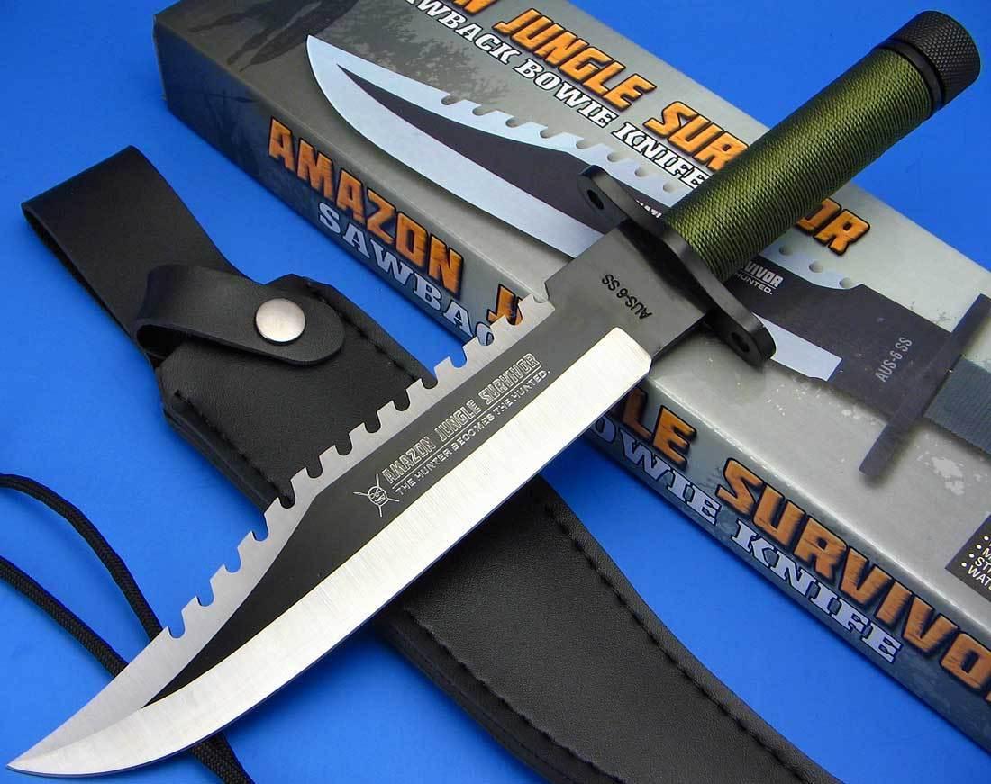 Rambo Knife Survival Kit The Amazon Jungle Survival