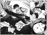 Ranma defeats thugs