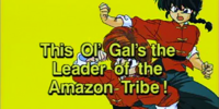 This Ol' Gal's the Leader of the Amazon Tribe!