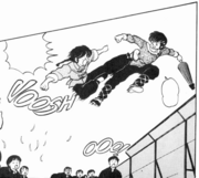 Ranma gets angry with Ryoga