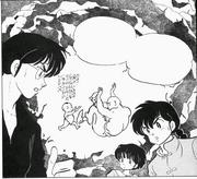 Tofu Moxibustion explanation - manga