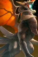 White Dragon Evo 3 art card