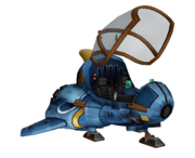 Ratchet's ship render