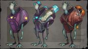 Concept art - Tharpod People
