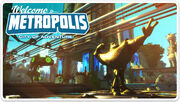 Ratchet & Clank Full Frontal Assault Metropolis Postcard