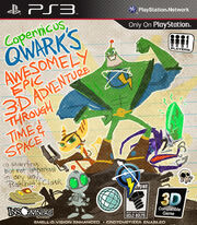 Copernicus Qwark's Awesomely Epic 3D Adventure Through Time & Space cover
