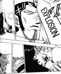 Doryu using Vampire's repulsion