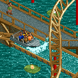 Coaster Boats RCT2 Icon