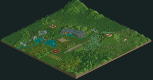 Gravity Gardens RCT2