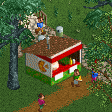 Pizza Stall RCT2 Icon