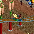 Carnival Float Ride - Butterfly Cars RCT2 Icon