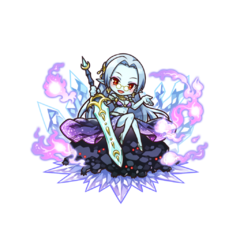 Kanami as a Vampire Noble in the mobile game