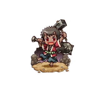 Oniwaka as a High Ogre in the mobile game